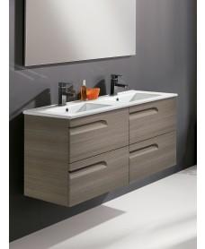Pravia Ash 120cm Vanity Unit 4 Drawer and Basin