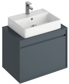 Regine 65cm Base Unit Anthracite & Brook Basin
