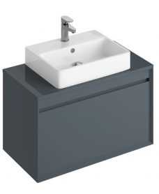 Regine 80cm Base Unit Anthracite & Brook Basin