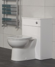 Blanco Back to Wall Unit ** Includes Concealed Cistern