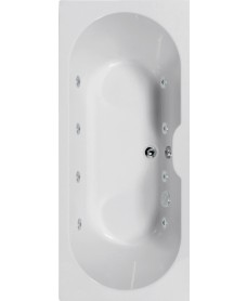 Chelsea 1700x750 Double Ended 8 Jet Whirlpool Bath