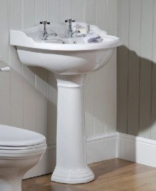 Oxford Basin 60cm & Pedestal  2 TH