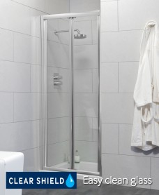 Cello 900 Bifold Shower Door - Adjustment 840-890mm