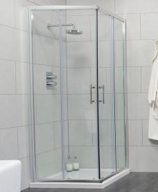 Cello 800 Corner Entry Shower Enclosure - Adjustment 765-790mm