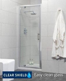 Cello 900 Pivot Shower Door - Adjustment 840-890mm