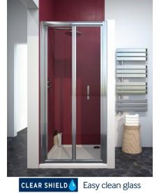 Cello Plus 900 Bifold Shower Door, Adjustment 840 - 890mm