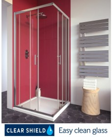 Cello Plus 900 Corner Entry Shower Door , Adjustment 865 - 890mm