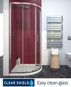 Cello Plus 2 Door 900 Quadrant Door, Adjustment 865 - 890mm
