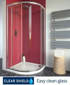 Cello Plus 900 Quadrant Single Door, Adjustment 865 - 890mm