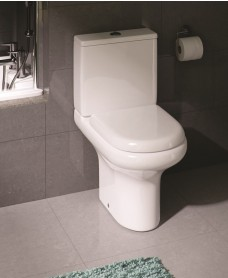 RAK Compact Close Coupled Toilet & Soft Close Seat  | PRICE INCLUDES PAN, CISTERN AND SEAT