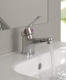 Coco Basin Mixer with FREE Click Clack Waste