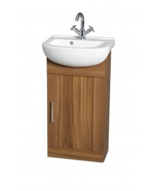 Cordoba Walnut 45cm Vanity Unit & Basin