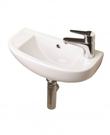 RAK Compact Slimline Basin 45cm Right Hand