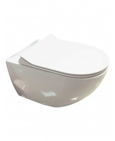 Darcy Wall Hung Toilet with SLIM Soft Close Seat