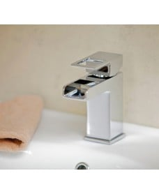 Della Basin Mixer with  FREE Click Clack Waste - *FURTHER REDUCTIONS - A Further 10% Off with Code MAY10