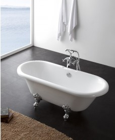 George 1750 x 780 Free Standing Bath - A Further 10% Off with Code MAY10
