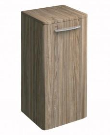 Twyford E100 Grey Ash Side Cabinet - Small