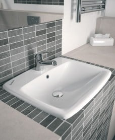 Twyford E100 Square 550 Countertop Basin