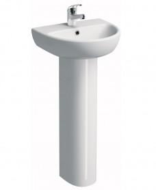 Twyford E100 Round 450 Basin & Pedestal