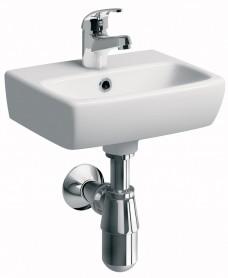 Twyford E100 Square 360 Cloakroom  basin