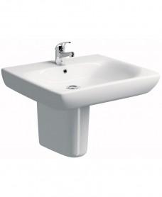 Twyford E100 Comfort 650 Basin & Semi Pedestal