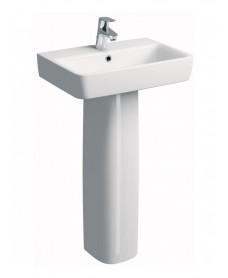 Twyford E200 450 Handrinse Basin & Pedestal