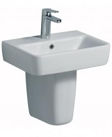 Twyford E200 450 Handrinse Basin & Semi Pedestal