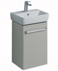 Twyford E200 450 Grey Vanity Unit Wall Hung *A Further 10% off with Code JAN10