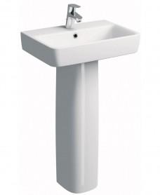 Twyford E200  550 Basin & Pedestal