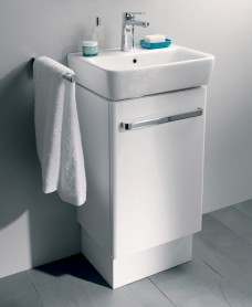 Twyford E200 550 White Vanity Unit Floor Standing  *A Further 10% off with Code JAN10