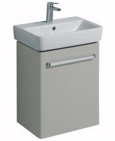 Twyford E200 550 Grey Vanity Unit Wall Hung