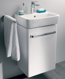 Twyford E200 550 White Vanity Unit Wall Hung