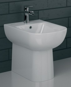 Twyford E500 Back To Wall Bidet