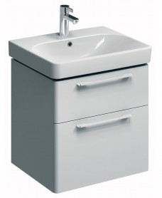 Twyford E500 600 White Vanity Unit Wall Hung - Furniture Unit Only.