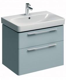 Twyford E500 750 Grey Vanity Unit Wall Hung