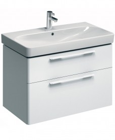 Twyford E500 900 White Vanity Unit Wall Hung