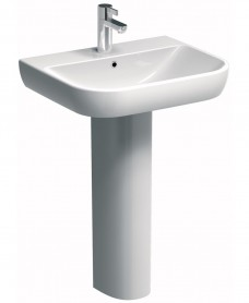Twyford E500 Round 550 Basin & Pedestal