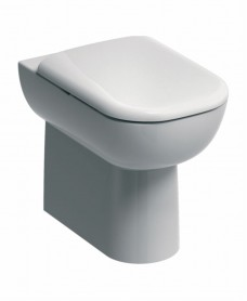 Twyford E500 Back To Wall Toilet & Soft Close Seat