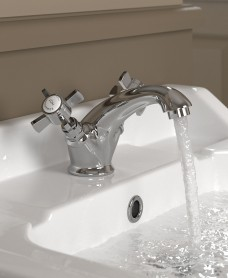 Edwardian Basin Mixer with FREE Click Clack Basin Waste - *FURTHER REDUCTIONS