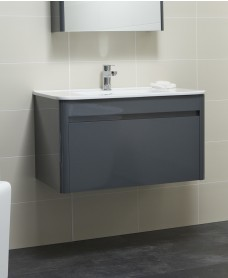 Elora 80cm Anthracite Vanity Unit and Basin ** Further Reductions**