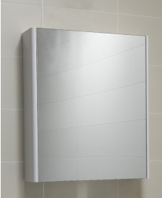 Elora 60 Mirror Cabinet White - **70% Off