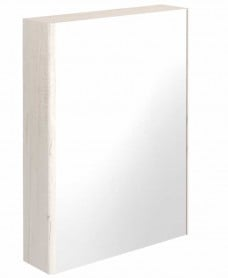 Elora 60 Mirror Cabinet Light Wood - **70% Off