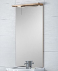 Blanco Walnut 60 Mirror