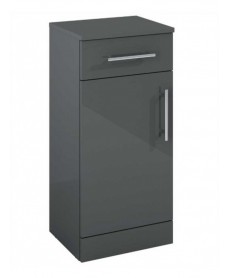 Blanco Gloss Grey Base Storage Unit