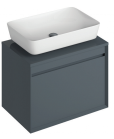 Regina 65cm  Base Unit Anthracite and Enya Basin