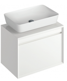 Regina 65cm  Base Unit White and Enya Basin