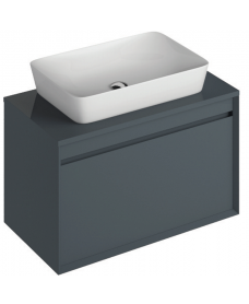 Regine 80cm Base Unit Anthracite & Enya Basin