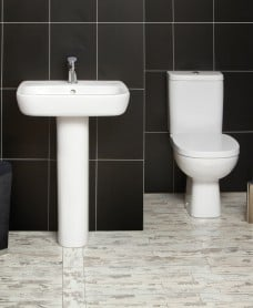 Farli Toilet and Wash Basin Set