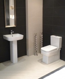 RAK Florence Toilet and Wash Basin Set