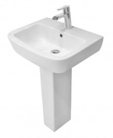 RAK Florence Basin 52cm  & Pedestal (1TH)
